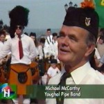 RTE TV Heartlands 1995 - Youghal Pipe Band (5)