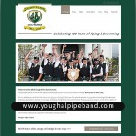 Youghal Pipe Band - Official Website- Redesign