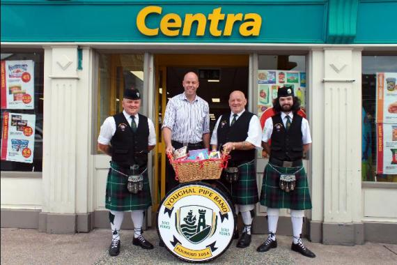 Youghal Pipe Band Golf Classic 2014 Centra