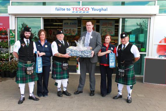 Youghal Pipe Band Golf Classic 2014 Tesco
