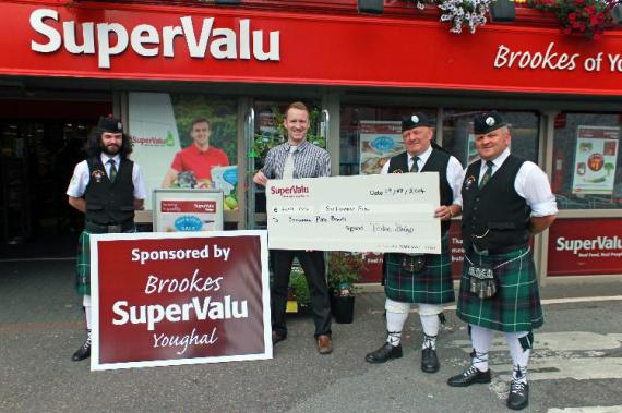 Youghal Pipe Band Golf Classic 2014 SuperValu