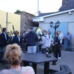 Youghal Pipe Band recital at Bertie's Bar