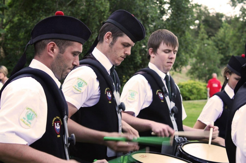 All Ireland Pipe Band Championships 2014 - Youghal Pipe Band (1)