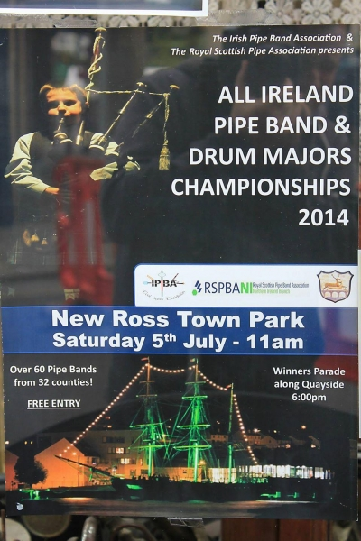 All Ireland Pipe Band Championships 2014 - Youghal Pipe Band (10)