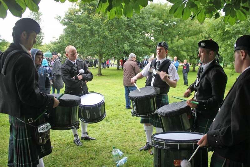 All Ireland Pipe Band Championships 2014 - Youghal Pipe Band (11)