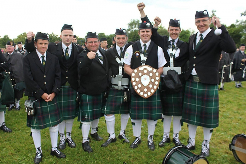 All Ireland Pipe Band Championships 2014 - Youghal Pipe Band (15)