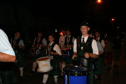 Festival Interceltique Lorient 2004 - Youghal Pipe Band (58)