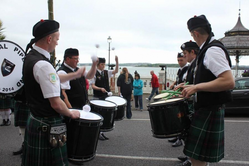 South of Ireland Pipe Band Championships - 2014 - Youghal Pipe Band (2)