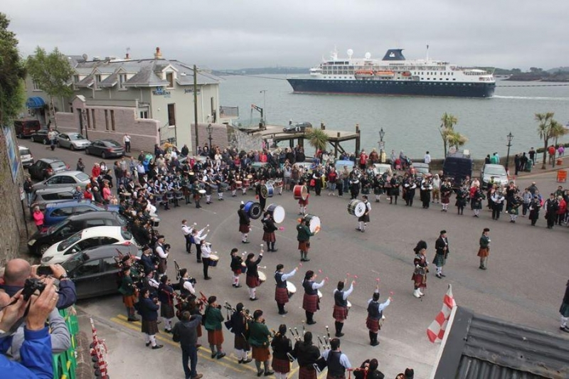 South of Ireland Pipe Band Championships - 2014 - Youghal Pipe Band (25)