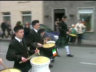 youghal pipe band st patricks day parade 2005 (1)