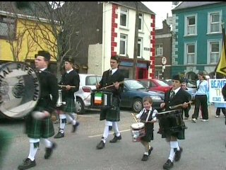 youghal pipe band st patricks day parade 2005 (3)