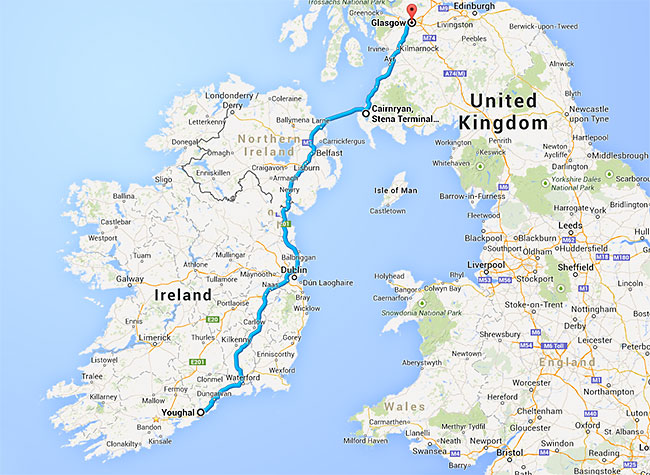 Youghal-Pipe-Band---World-Pipe-Band-Championships--map-glasgow