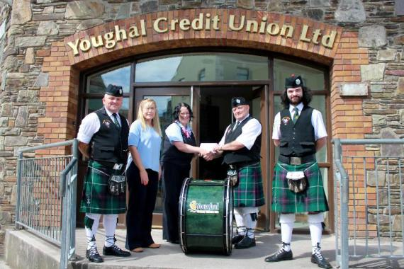 Youghal Pipe Band Golf Classic 2014 Credit Union