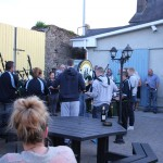 Youghal Pipe Band recital at Bertie's Bar