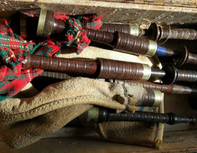 Danny (Duis) McCarthy's Bagpipes Found After 34 Years