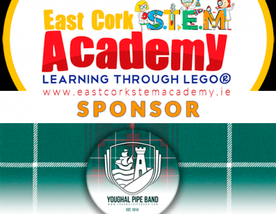 East Cork STEM Academy Sponsors Youghal Pipe Band