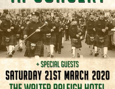 Youghal Pipe Band In Concert + Special Guests 2020